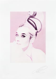 David Downton - Audrey Hepburn - Fashion Illustration Gallery