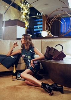 Lauren Brown Lives the Glam Life for Sunday Times Magazine - Fashion Gone Rogue