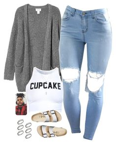 """""""09 12 15"""" by thatchickcrazy ❤ liked on Polyvore featuring Monki, ASOS, Birkenstock, Fremada and FOSSIL"""