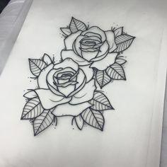 Tatuajes de rosas Forarm Tattoos, New Tattoos, Body Art Tattoos, Small Tattoos, Sleeve Tattoos, Tattoo Sketches, Tattoo Drawings, Tatuagem Old Scholl, Dibujos Tattoo