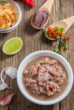 Spicy Recipes, Shrimp Recipes, Clean Recipes, Authentic Thai Food, Tasty Thai, Shrimp Paste, Thai Dessert, Thai Dishes, Diet Menu