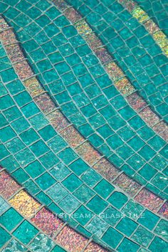 Use aquamarine tiles for your exterior or pool design and bring the ocean to you.