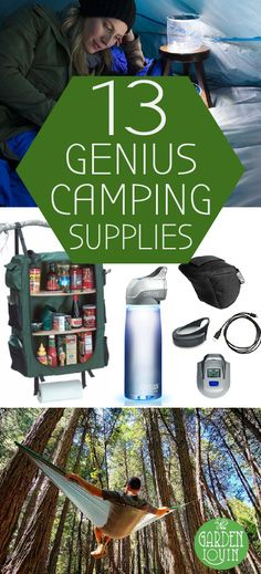 Enjoying the great outdoors just got a whole lot more awesome. Whether you prefer camping, glamping, or backpacking through the woods, these products are going to have you swooning. Some of the most innovative and useful products on the market now bring together convenience, safety, and comfort to wherever your adventures take you.