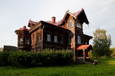 the most best house is built in 1903 in village Pogorelovo Kostroma area