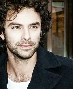 Aidan Turner | I love his eyes here, they look so sharp and bright