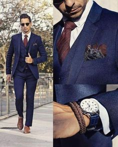 Keeping thins look good with a classy suit.