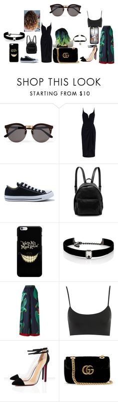 """""""Untitled #136"""" by mihaelamarula on Polyvore featuring Illesteva, Zimmermann, Converse, STELLA McCARTNEY, Kenneth Jay Lane, F.R.S For Restless Sleepers and Gucci"""