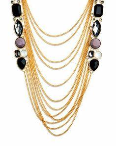 LOVE this drape necklace!!