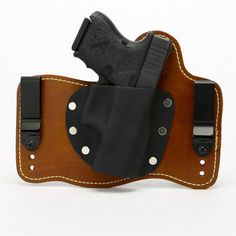 Foxx Holsters Premium Rustic Leather IWB Hybrid Holster With Comfort  Pad