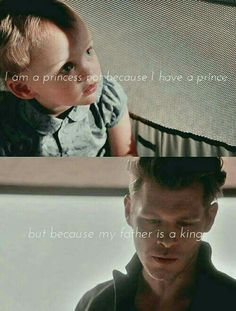 Hope and Klaus Mikaelson