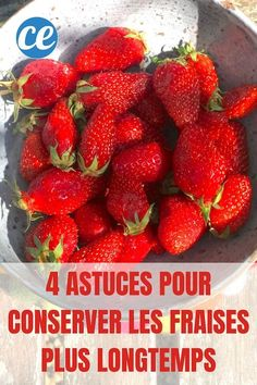 How To Store Strawberries, Compote Recipe, The Dish, Flan, Deserts, Good Food, Strawberry, Food And Drink, Nutrition