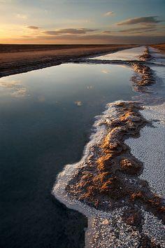 Chott el Jerid. Yunisia. © Inaki Caperochipi Photography
