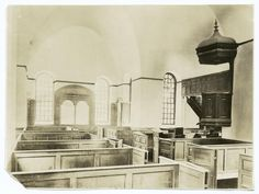 Interior, Christ's Church, Lancaster County, Virginia