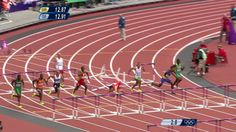 hurdles are hard. Lui Xiang of China was a medal favorite before this mishap