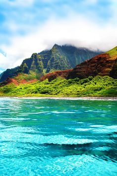 Napali, Kauai, Hawaii...most gorgeous life changing view I've ever seen! Loved it!