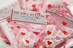 You are so sweet! Valentine DIY