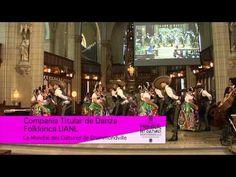 Compañia Titular de Danza Folklorica de la UANL en Iglesia de St-Frederic