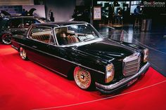 Sourkrauts × Made for Petrolheads Mercedes 220, Mercedes W114, Custom Mercedes, Mercedes Benz Coupe, Mercedes Auto, Motorshow Essen, Bbs, Jaguar Xk8, Bmw E38
