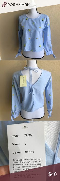 🌟HP 4/5 🌟 NWT 🌼Rebellion again Top Adorable top by Rebellion again New with tags Size: s Rebellion again Tops