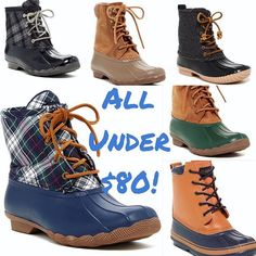 From the 'Gram: duck boots on sale! {click thru to shop}