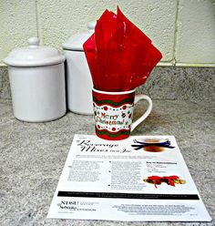 Homemade Beverage Mix Sampler Set - Make up a bath of each of the mixes and then divide into sampler gifts for several friends. (And ... keep some for yourself!)  Place in small zip top bags in a holiday mug along with a copy of the recipes for each found on this webpage.