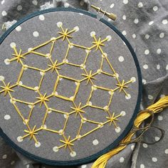 Chicken scratch embroidery