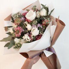 - ̗̀ ☆☼ pin: ˙˙· . ૐ ̖́- Bunch Of Flowers, My Flower, Fresh Flowers, Beautiful Flowers, Cactus Flower, Exotic Flowers, Purple Flowers, Bouquet Wrap, Flower Aesthetic