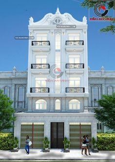 Mẫu nhà kết hợp kinh doanh cho thuê như căn hộ đẹp hiện đại
