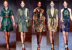 Gucci Spring 2015 RTW Collection at Milan Fashion Week #mfw
