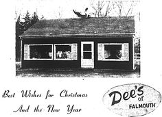 Dees Christmas card 1956