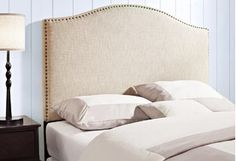 Bedroom feeling bland? To make a statement with a single piece, try updating your headboard. Richly finished wood serves as dramatic focal point in a sophisticated suite, while upholstered designs come in a variety of colors, shapes, and styles.