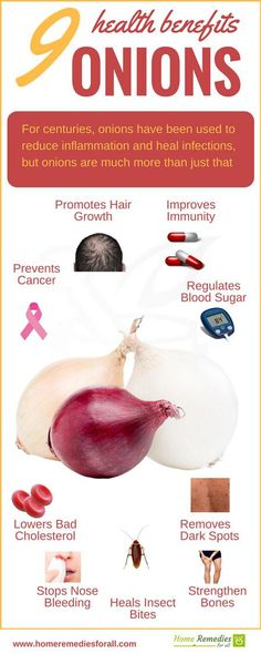 onions health benefits infographic