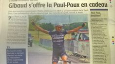 Some more press coverage as Mathieu Gibaud wins in France.  www.cmicycling.com