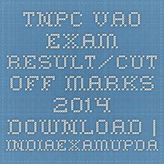 TNPC VAO Exam Result/Cut off Marks 2014 Download | Indiaexamupdate.in