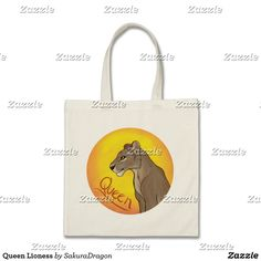 Queen Lioness Tote Bag #lioness #lion #animals #endangered #africa