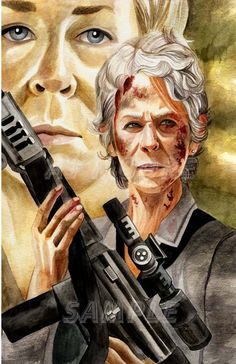 Carol - The Commando -by AJ Moore by GudFit.deviantart.com on @DeviantArt