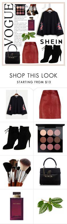 """shein"" by merima-jamakovic ❤ liked on Polyvore featuring Sandro, Tom Ford, MAC Cosmetics, Luana and Dolce&Gabbana"