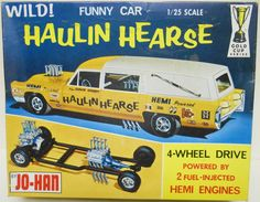 Just what every kid wants.  A toy hearse.  (1966)