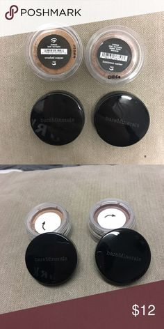 NWT bare mineral eyeshadows Two beautiful bare mineral eyeshadow pigments! Brand new ever used. bareMinerals Makeup Eyeshadow