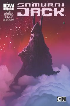 PS: pqxv tbfoa | SAMURAI JACK Comics' SUB   (variant) covers by...