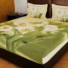 handicrafted bed sheets to decorate your bed room