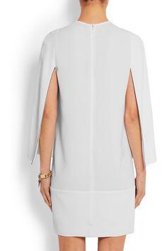 Givenchy | Mini dress in white stretch-crepe | NET-A-PORTER.COM