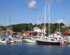 Strömstad, beautiful little town on Sweden's north-western coast. Famous for its shrimps!