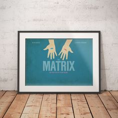 The Matrix Movie - A4 Glossy Poster - FREE Shipping in Art, Posters, Contemporary (1980-Now) | eBay!
