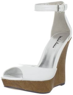 Michael Antonio Women's Genet Wedge Sandal -- For more information, visit now : Wedges Shoes