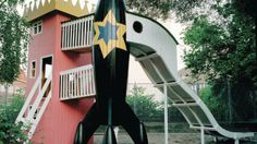 The Rocket and the Princess Tower is a kindergarten playground in Frederiksberg, Denmark.