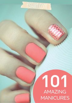 Check out these amazing manicure ideas! Each one is better then the next.