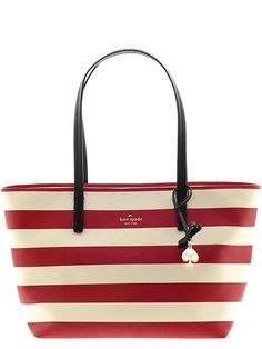 Kate Spade New York - Deco Beige and Dynasty Red - Hawthorne Lane Ryan Tote
