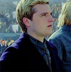 Josh Hutcherson as Peeta Mellark The Hunger Games