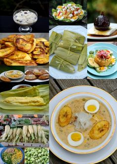 Traditional Ecuadorian Easter Dishes, plus this site has so many more Ecuadorian foods! So excited! I miss that place so much! Easter Recipes, Holiday Recipes, Dinner Recipes, Easter Dishes, Spanish Dishes, Latin Food, Food For Thought, Main Dishes, Yummy Food